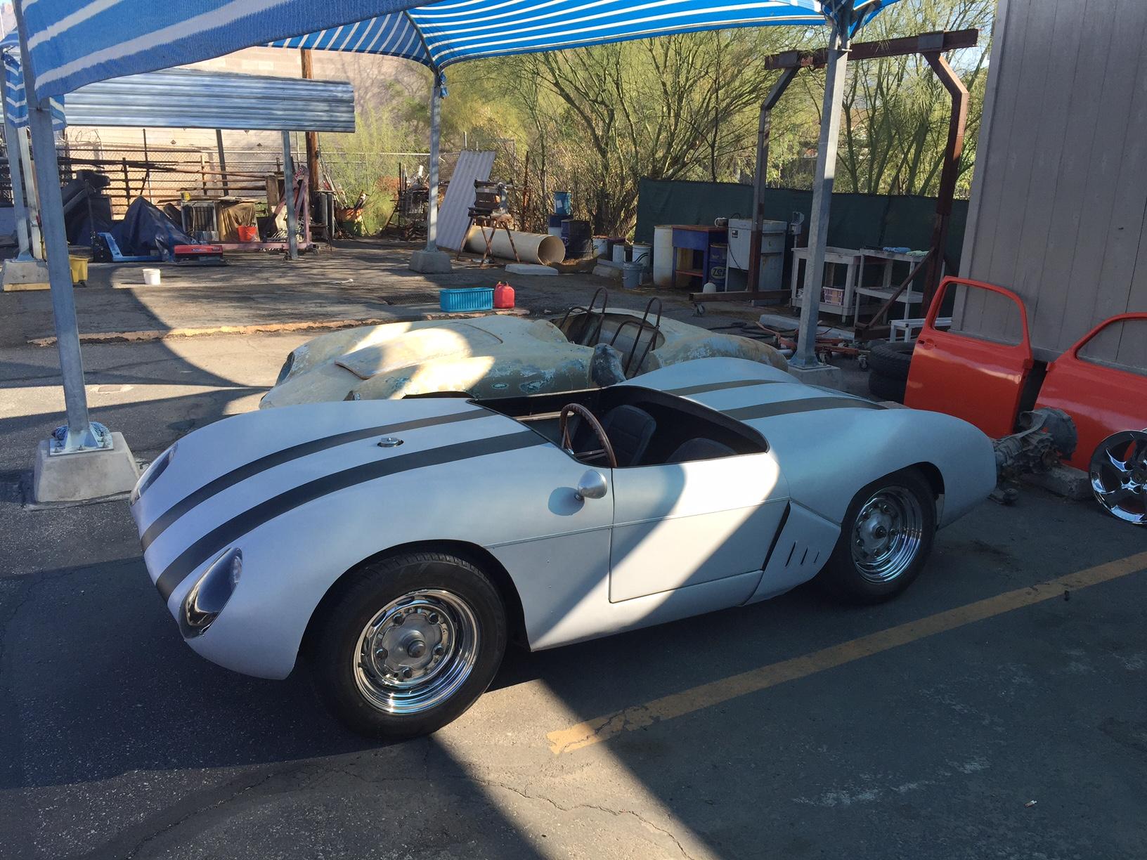 1954 Porsche Pre A Microplas Mistral Race Car Sold